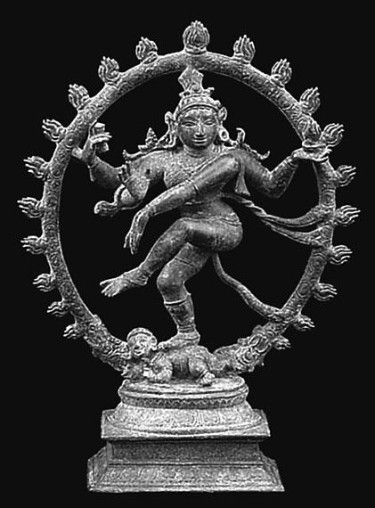 Шива натараджа индийская статуэтка